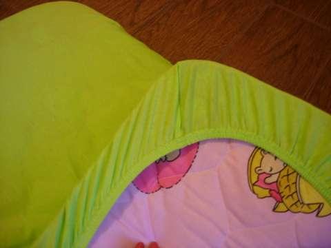 Простынь на резинке для кроватки своими руками пошагово